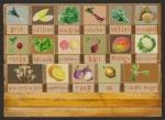 groenten leesbord