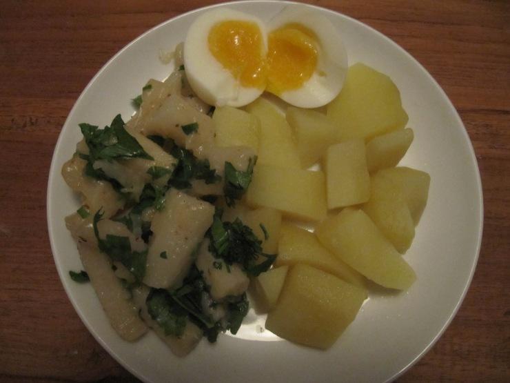 schorseneren met aardappels
